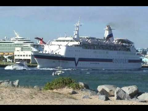 Discovery Sun Departing Port Everglades In Ft Lauderdale YouTube - Discovery sun cruise ship