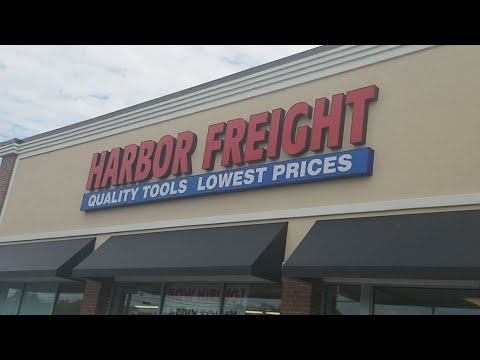 Harbor Freight Trip Live !!!