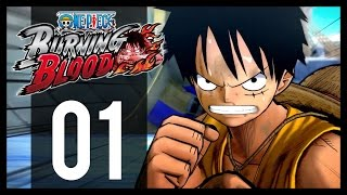 One Piece Burning Blood - Gameplay Walkthrough Part 1 - Portgas D. Ace (PS4)