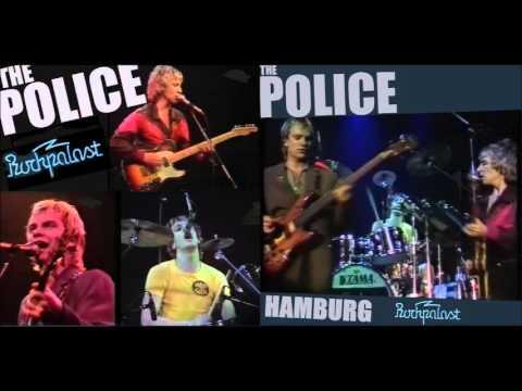 """The Police- Hamburg, Germany """"Markethalle"""", 11-01-1980 (Full Audio Broadcast)"""
