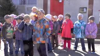 1 день в детском саду.Игры Уроки Прогулка Сон