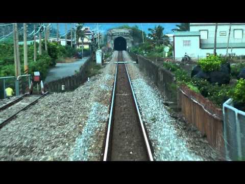 [HD] Ride the Taiwan TRA Ordinary train no. 354 haul by GM EMD R121 Part 6
