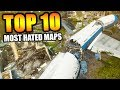 "Top 10 ""MOST HATED MAPS"" in COD HISTORY (Top Ten) Call of Duty"