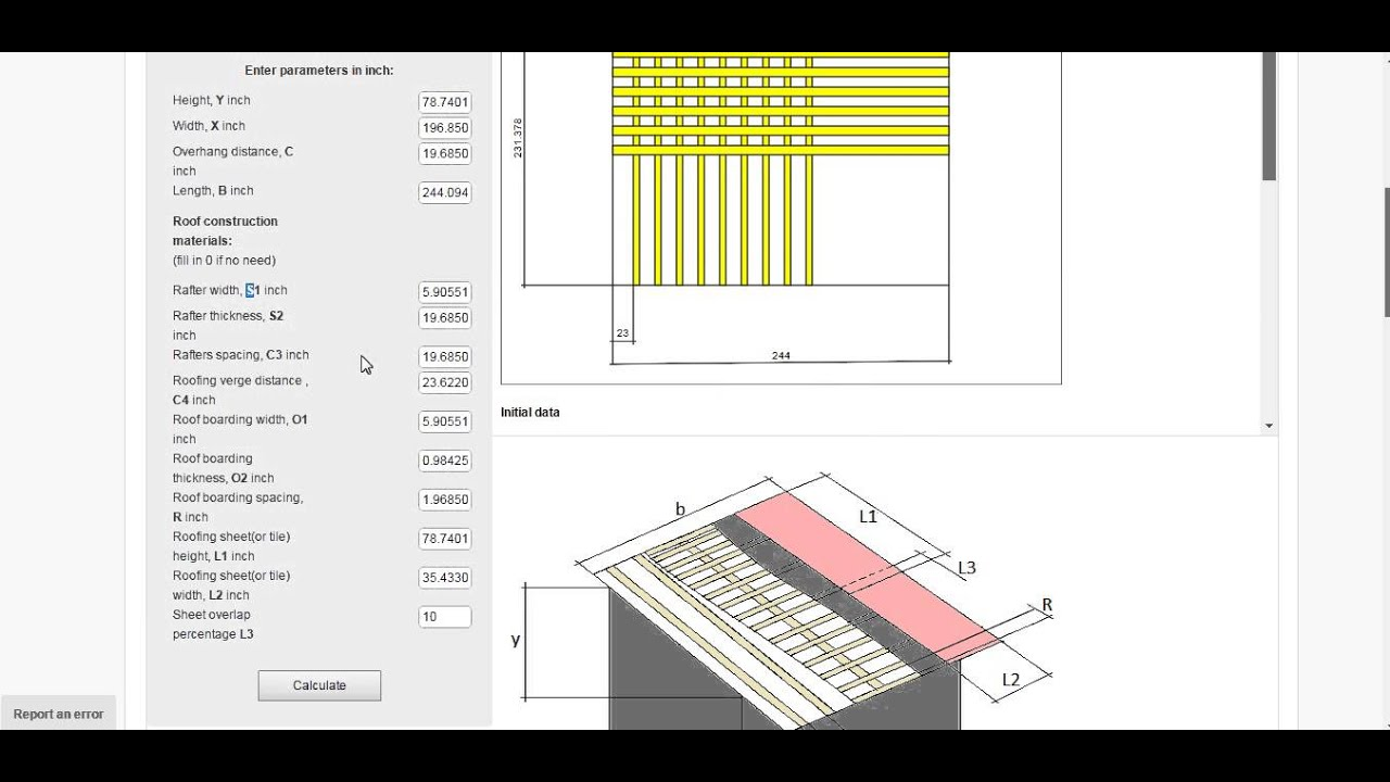 roof pitch calculator instructions justcalccom - Roof Pitch Angles
