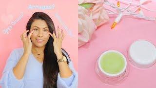 Elimina Ojeras Oscuras, arrugas y bolsas -Crema Casera antienvejecimiento DIY - fashionbycarol