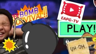 🔴 My first time playing Super Bomb Survival 2019 in Roblox | Can I Survive? EAPG-TV
