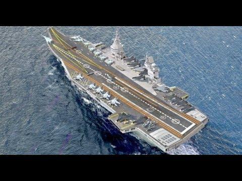 Россия ударит новым авианосцем 23000Э «Шторм»