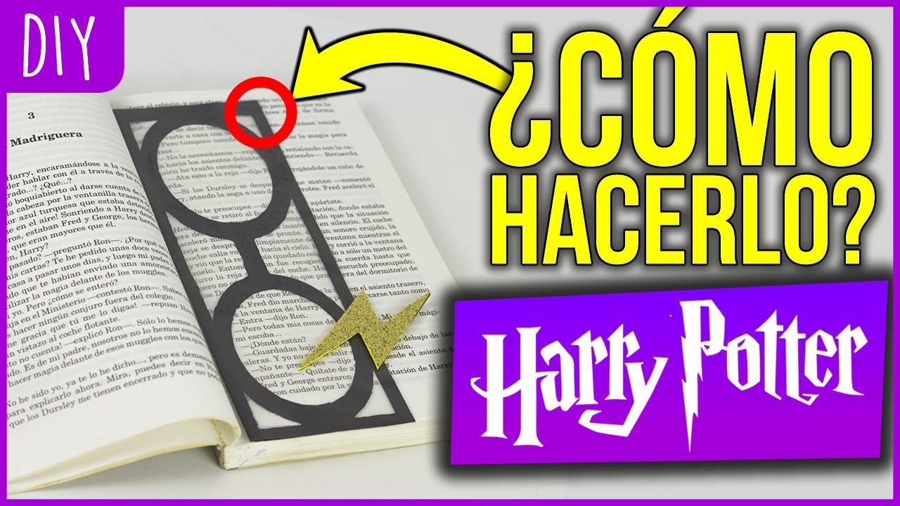 Separador Para Libros De Harry Potter Manualidades Youtube