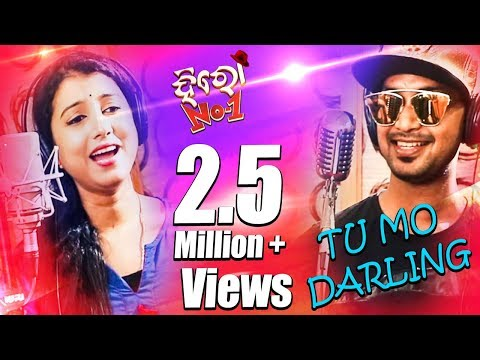 Tu Mo Darling Song || Studio Making || Hero No 1 Odia Movie || Satyajit, Diptirekha - TCP