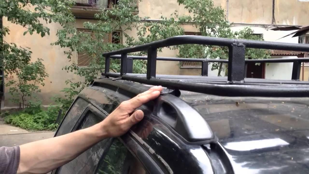 фольксваген кадди самодельный багажник на крышу