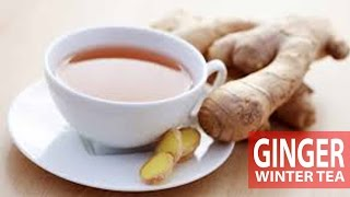 Ginger Tea | Winter Season | Healthy Tea Thumbnail