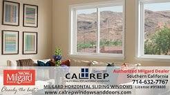 Milgard Horizontal Slider Window - California Replacement Windows 714-632-7767 Orange County