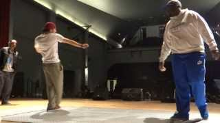 POPPIN C VS LEMZO - SEMI FINAL POPPING - KING ON THE FLOOR 3 - BROADCOST BATTLE