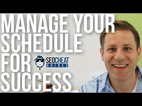 How to Manage Your Schedule for Entrepreneurial Success