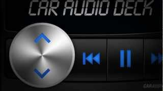 Car Audio Deck app for iPhone & iPod touch.