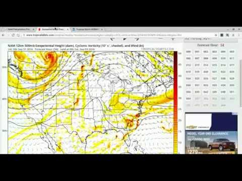 Weather Discussion on Tropical Storm Hermine Part I