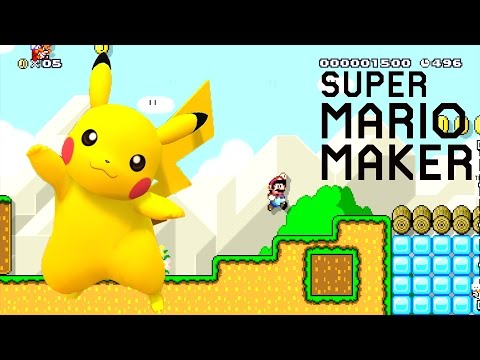 Thumbnail: - Super Mario Maker Wii U - Pokemon GO! [7]