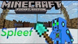 Minecraft PE - Spleef Server - #1 - How do you Play?