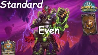 Hearthstone: Even Warlock Post-Nerf #12: Witchwood (Bosque das Bruxas) - Standard Constructed