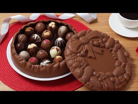 DeBrand Fine Chocolates - Edible Art Boxes