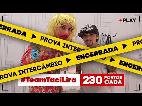 #EntubadosNoSony - Prova Intercâmbio - #TeamTaciLira