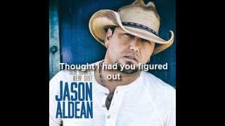 Jason Aldean - Tryin' To Love Me (Lyrics)