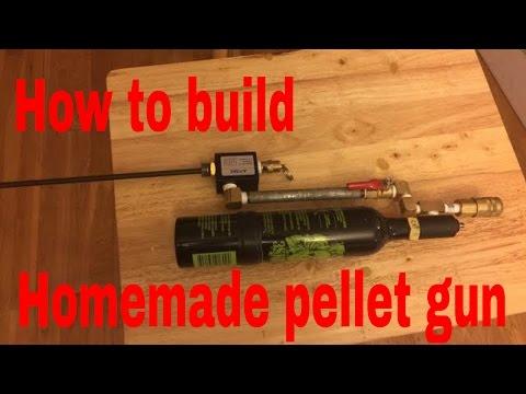 Homemade Pellet gun / Air gun /NERF Gun