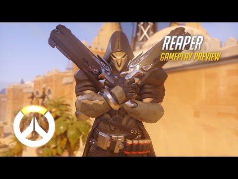 Overwatch: Reaper Gameplay Preview (EU)