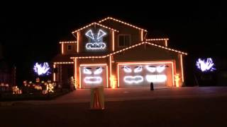 This is Halloween - Riverside Light Show House 2015