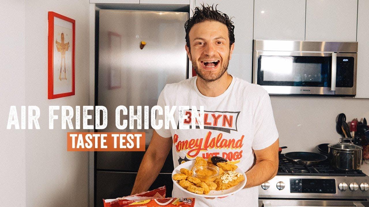Tyson Air Fried Chicken Taste Test Brunch Boys Youtube