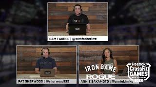 Rogue Iron Game Show - Day 3, Episode 5 | Live At The 2020 Reebok CrossFit Games