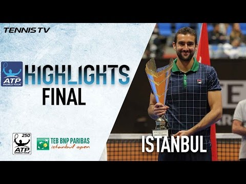 Highlights: Cilic Beats Raonic In 2017 Istanbul Final