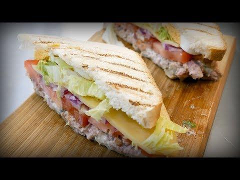 Как приготовить сэндвич с тунцом