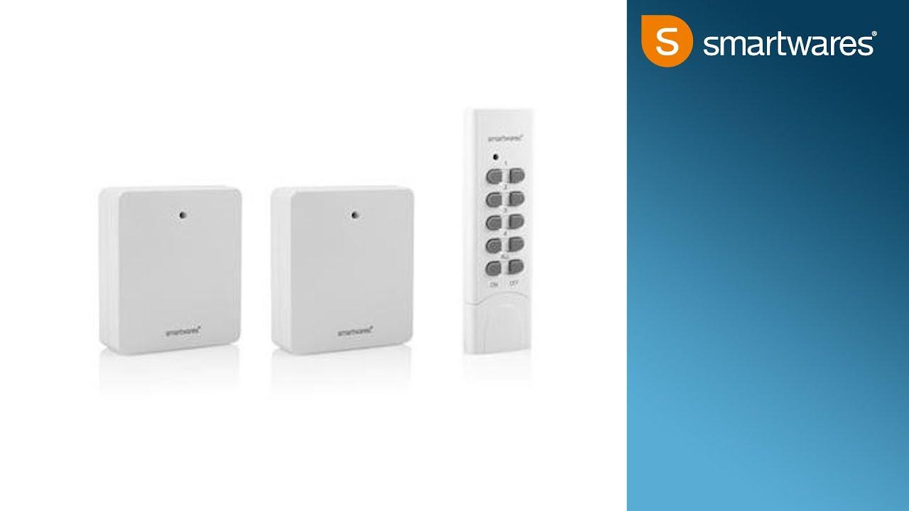 Smartwares Abluftsteuerung Funkeinbauschalter Dunstabzugshaube /& Fensterkontakt