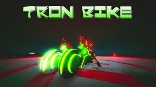 TRON BIKE - Finally - CAN IT WALLRIDE?? :) & New Adversary Mode with Alphyx - GTA5