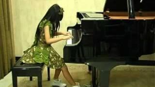 Aurelia Estrella Handoko (9) plays Nocturne no.6 by John Field