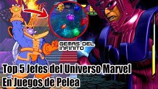Top 5 Villanos del Universo Marvel en Juegos de Pelea (Marvel Vs Capcom)