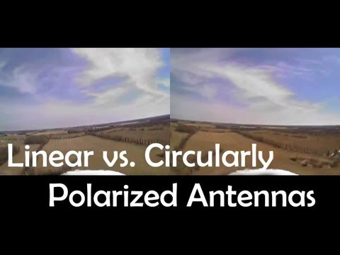 Linear vs. Circularly Polarized Antennas for FPV