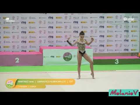 IRENE MARTÍNEZ - CUERDA ( GIMNÁSTICO ALMENDRALEJO ) ( FINAL LIGA IBERDROLA 2019 )