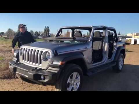 Gill Auto Madera >> 2018 Jeep Wrangler Unlimited 4x4 Door and Freedom Hardtop ...