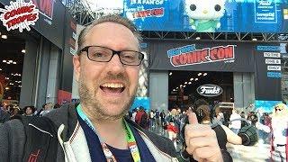 Comic Tropes Visits New York Comic Con 2019