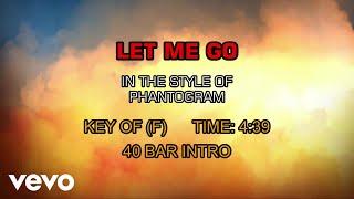 Phantogram - Let Me Go (Karaoke)
