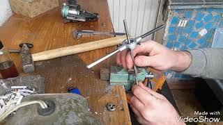как сделать ручку для катушки