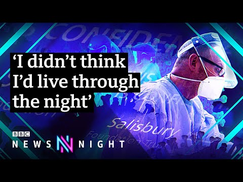 Coronavirus: On shift in intensive care - BBC Newsnight