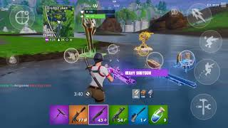 WINNING WITH THE NEW MAVEN SKIN- Fortnite Mobile