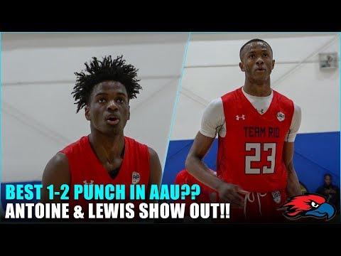 Best 1-2 Punch in AAU?? Scottie Lewis & Bryan Antoine UAA Highlights!
