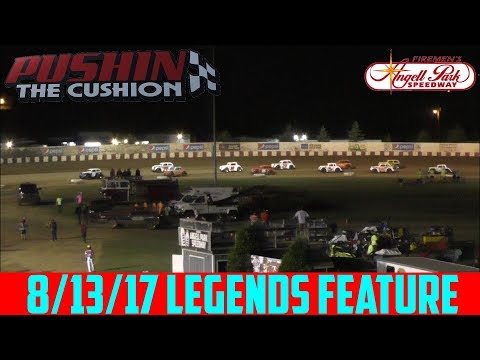 Angell Park Speedway - 8/13/17 - Legends - Feature