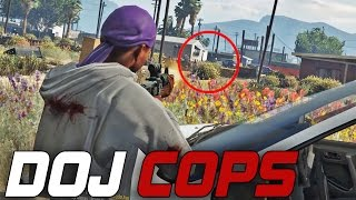 Dept. of Justice Cops #64 - Drive By Purge (Criminal)
