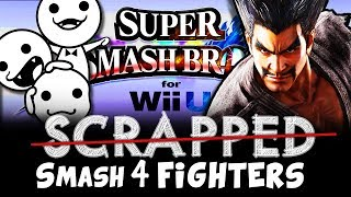 SCRAPPED Super Smash Bros 4 Fighters