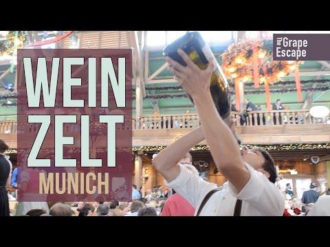 Munich Oktoberfest Wine Tent / Kuffler\u0027s Weinzelt & Munich Oktoberfest Wine Tent / Kuffler\u0027s Weinzelt - YouTube